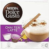 NESCAFÉ Dolce Gusto   Capsulas de Té Chai Tea Latte   Pack de 3 x 16