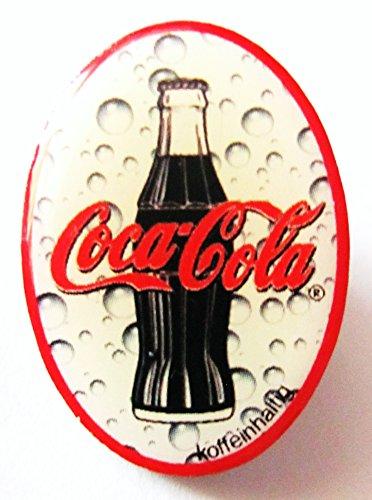 Coca Cola - Flasche & Schriftzug - Pin 28 x 21 (Kostüme Cocacola Flasche)