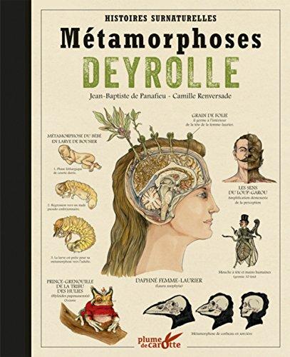 Métamorphoses Deyrolle - Histoires surnaturelles par Jean-baptiste de Panafieu