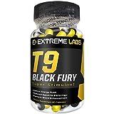 Extreme Labs T9 Black Fury - Strong Ephedrine / Ephedra Free Fat Burners
