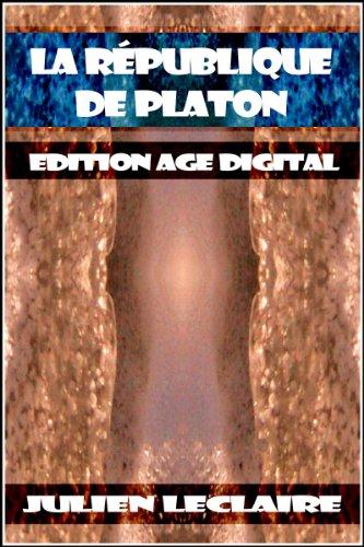 La République de Platon - Edition Age Digital
