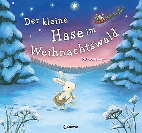 Der kleine Hase im Weihnachtswald