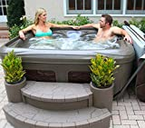 EZ - DREAMMAKER SPA / ultraleichtes Steckdosen Outdoor Whirlpool / Balkonspa Balkonwhirlpool/ Garteninsel whirlpool4you Spa / Balboa M7 / O3 Ozon / Made in Amerika / 4 - 5 Personen Jacuzzi mit Liege Lounge / Plug & Play Plug In Hottub