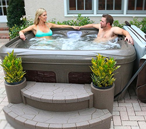 EZ – DREAMMAKER SPA / ultraleichtes Steckdosen Outdoor Whirlpool / Balkonspa Balkonwhirlpool/ Garteninsel whirlpool4you Spa / Balboa M7 / O3 Ozon / Made in Amerika / 4 – 5 Personen