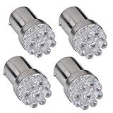 1156BA15S P21W AMPOULE LAMPE 9LEDs 12V pour une utilisation dans les voitures-Lot de 4