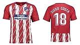 Trikot Kinder Atletico Madrid 2017-2018 Home - Diego Costa 18 (164)