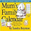 Mum's Family Calendar 2011