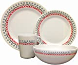 OLPro Witley Melamine Dinner Set (Pack of 16)