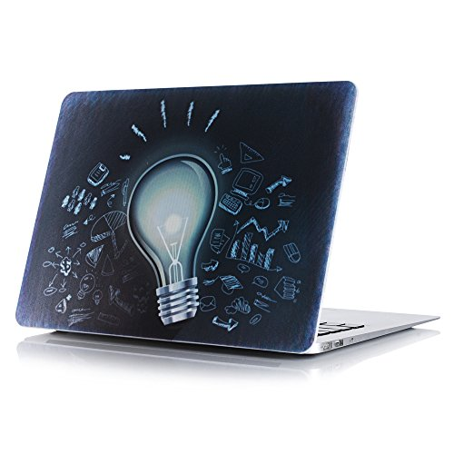 Matt Frost Hard Shell Cover + Tastatur Cover + Displayschutzfolie für Apple MacBook Pro 13/15mit Touch Bar & Touch ID Single Case(Lamp) Pro 13