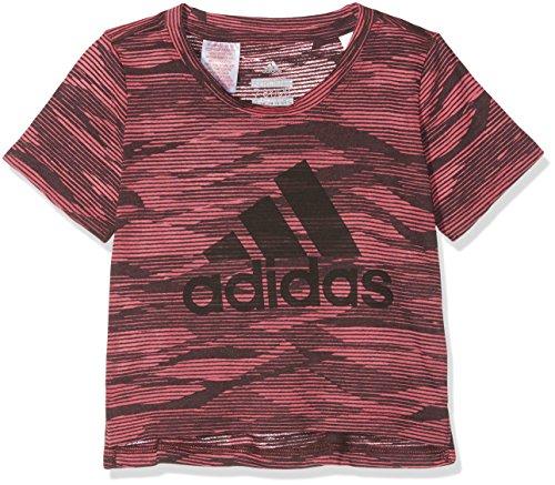 adidas Kinder Aero T-Shirt, Suppnk/Black, 140 Preisvergleich