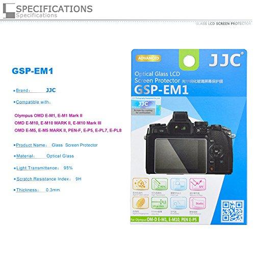 PROfoto.Trend/JJC Ultra-sottile Schermo LCD in Vetro Ottico per Olympus OM-D E-M1,E-M10, E-M10 MARK II, PEN E-P5,E-PL7, E-M5 Mark II, PEN-F