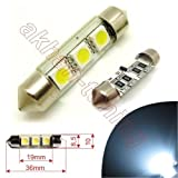 SOF36CAN3W CANBUS SMD LED Kofferraumbeleuchtung mit 3-SMD Leds Länge: 36mm 12V Xenon Weiss