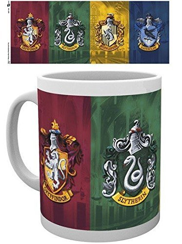 Harry Potter GB Eye, Escudos, Taza