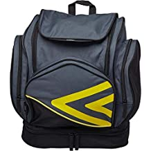 Umbro Pro Training Italia - Mochila para Equipaje, Color Carbon/Black/Blazing Yellow