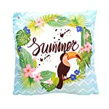 Home Edition Outdoor Kissen, wasserabweisend, 45 x 45 cm, Summer Tukan