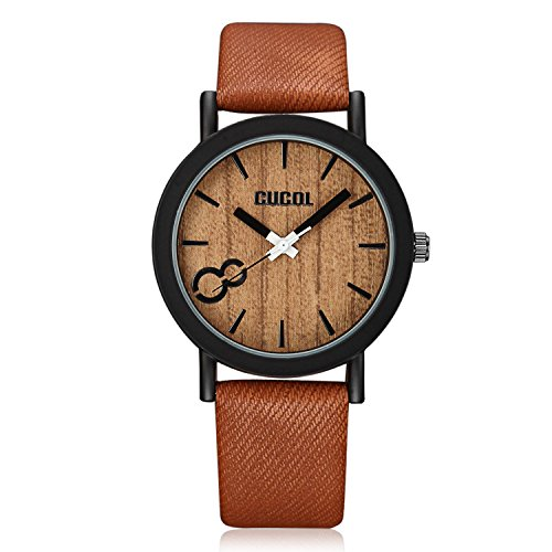 cucol-eco-faux-wooden-dial-watches-for-men-and-women-leather-band-casual-design-brown-color