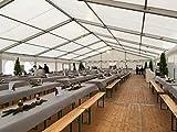 Tischdeckenrolle 25 m lang aus stoffähnlichem Vlies (Farbe & Breite nach Wahl), WEIß, 1m x 25m, ideal für jede Party, Catering, Vereinsfeier, Geburtstagsfeier - 9