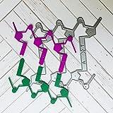 Scrapbooking Stanzschablone, FNKDOR Papierbasteln Schablonen Embossing Machine Schneiden Stanzformen, für Sizzix Big Shot und andere Stanzmaschine (E)