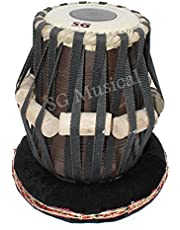SG Musical Baddi Sheesham Dayan Tabla (Black)