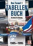 Das Formel 1-Tabellenbuch   1985-1995