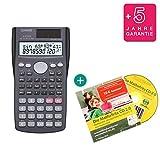 Casio FX-85MS + Lern-CD (auf Deutsch) + Erweiterte Garantie