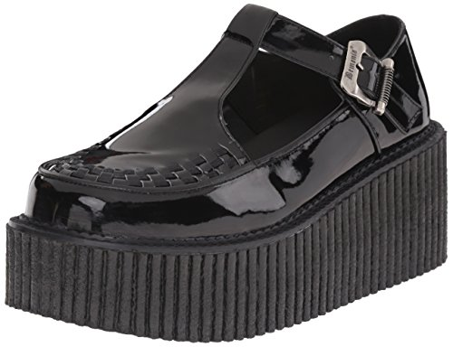 Demonia Damen Creeper 214 Sneakers, Schwarz (Blk Pat), 36 EU