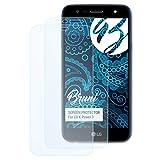 Bruni Schutzfolie kompatibel mit LG X Power 3 Folie, glasklare Bildschirmschutzfolie (2X)