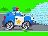 Lustig Polizeiwagen
