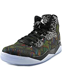 Jordan Air Spike Forty BHM Men Round Toe Synthetic Black Sneakers