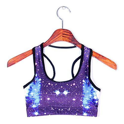 WKAIJCC Femme Sports Sous-vêtements Soutien-gorge Sans Bague En Acier Grand Jardin Yoga Ramassage Beauté Arrière Soutien-gorge Confort B