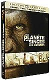 La Planète des Singes - Les origines [Combo Blu-ray + DVD + DVD bonus - Édition Collector boîtier SteelBook]