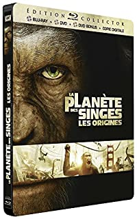 La Planète des Singes : Les origines [Combo Blu-ray + DVD + DVD bonus - Édition Collector boîtier SteelBook] (B005DS9YIS) | Amazon price tracker / tracking, Amazon price history charts, Amazon price watches, Amazon price drop alerts