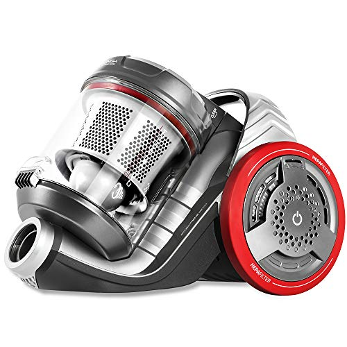 Cecotec EcoExtreme 3000. Aspirador Trineo Sin Bolsa Multi Ciclónico. Capacidad de 3'5L. Filtro HEPA