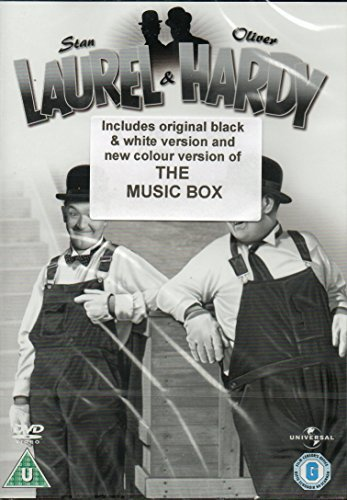 Laurel and Hardy : The Music Box / Busy Bodies / Dirty Work / Hog Wild [DVD] (Wild Hogs Dvd)