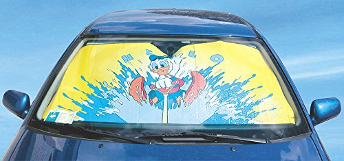 Preisvergleich Produktbild Disney 33093 Silber Donald Duck Sonnenschutz