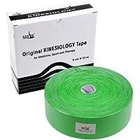 NASARA Kinesiologie Tape kinesiologische Tapes *32m x 50mm * Papp-Spenderbox (grün) preisvergleich bei billige-tabletten.eu