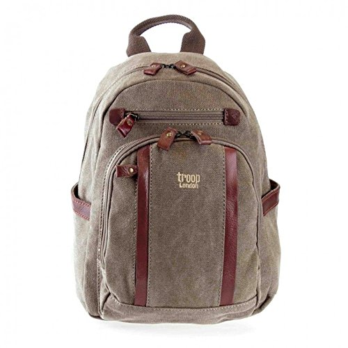 troop-london-trp0255-petit-sac-a-dos-marron-marron-34x25x12cm