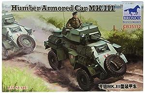 Unbekannt Bronco Models cb35112Maqueta de Humber Armored Car MK.III