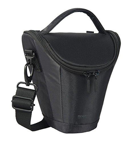 Riva Kamera Schutz Hülle Tasche Bag Case Schwarz für Nikon Coolpix P820