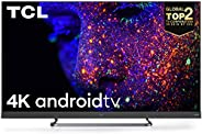 TCL 138.7 cm (55 inches) C8 Series 4K Ultra HD LED Smart Android TV 55C8 with Built-In Farfield (Black) (2020