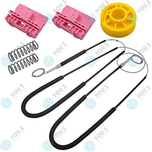 YOU.S 8L3837461 elektrischer Fensterheber Reparatursatz - Vorne Links