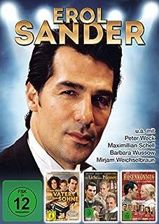 Erol Sander - Sammeledition (3 DVDs - Die Rosenkönigin, Die Liebe eines Priesters, Wenn der Vater mit dem Sohne)