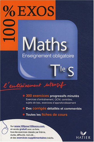 Maths Tle S : Enseignement obligatoire