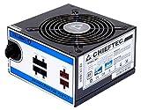 Chieftec CTG-650C 650W ATX Negro unidad de - Fuente de alimentación (650 W, 230 V, 50 Hz, +12V1,+12V2,+3.3V,+5V,+5Vsb,12V, 0,9, Activo)