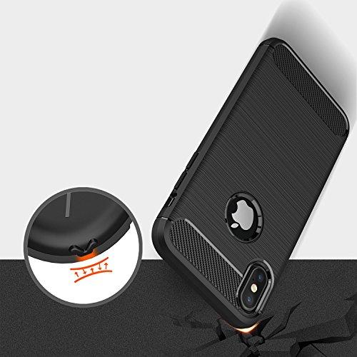 51xtLEn43fL - [Amazon.de] MillSO iPhone X Schutzhülle für 1,49€ statt 6,99€ *PRIME*
