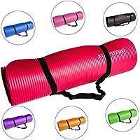 Amazon.es  Rojo - Colchonetas   Yoga  Deportes y aire libre 324f3684503e