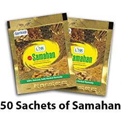 Samahan Herbal Extracts Tea for Cold Cough Immunity (50pcs x 4g sachets)