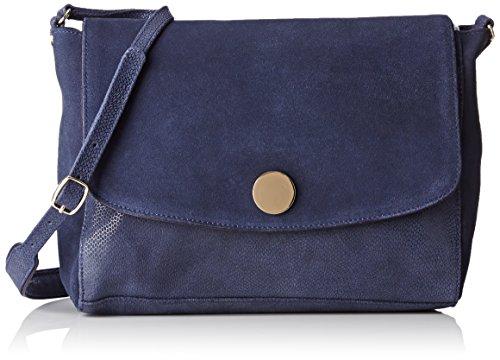 Petite Mendigote Ambre, Borsa a spalla donna , Blu (Bleu (Eclipse)), Taille Unique