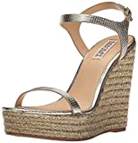 Badgley Mischka Women's Clea Espadrille Wedge Sandal