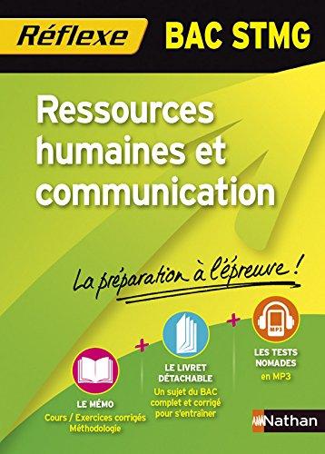 Ressources humaines et communication Bac STMG